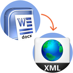 DOCX to XML conversion
